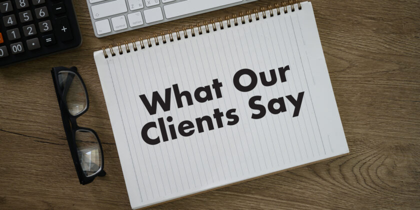 How to best handle those sensitive interviews for client testimonials
